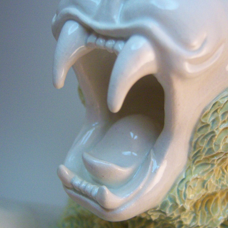 detail mouth
