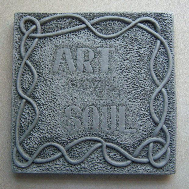 art proves the soul - wall art